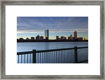 Awake And Sing Framed Print by Juergen Roth