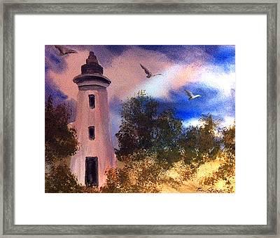 Awake At Dawn Framed Print by Karen  Condron