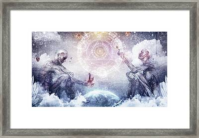 Awake In A Silver Land Framed Print by Cameron Gray