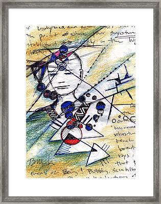 Awake In The Dream Framed Print by Bruce Manaka