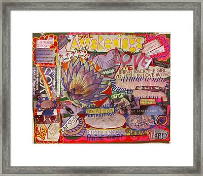 Awake Oh My Soul Framed Print