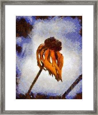 Framed Print featuring the painting Awaken A New Life by Joe Misrasi