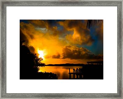 Awaken Me With Light Framed Print by Karen Wiles