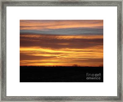 Awaken The Day Framed Print