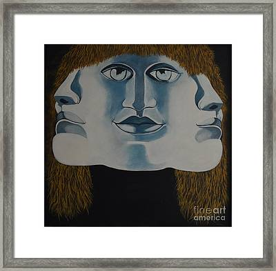 Awaken To All Who Dwell Inside Framed Print