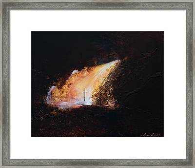 Awaken To Your Light Within Framed Print by Tara Arnold
