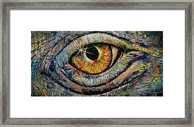 Awakened Dragon Framed Print by Michael Creese