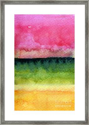 Awakened Framed Print by Linda Woods