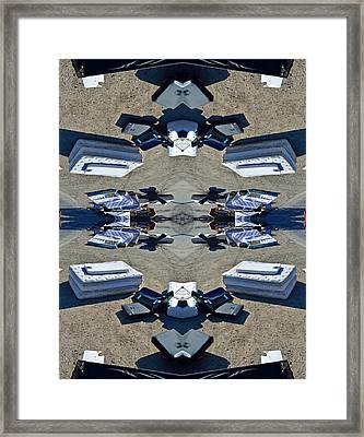 Awakened Offering Axis Of Unturningbackable Transitorians 2014 Framed Print by James Warren