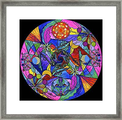 Awakened Poet Framed Print by Teal Eye  Print Store