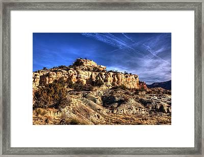 Awakening Desert Framed Print
