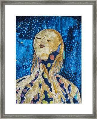 Awakening Detail Framed Print by Lynda K Boardman