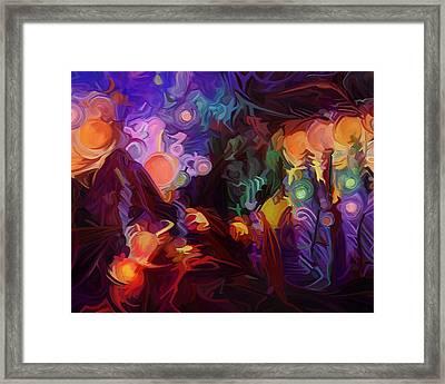 Awakening Framed Print by Dorinda K Skains