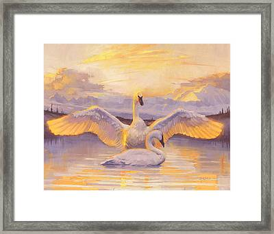 Awakening Framed Print by Francois Girard