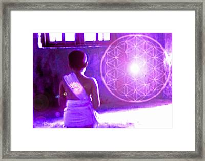 Awakening Framed Print by Ellen Vaman