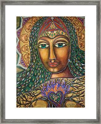 Awakening Heart Framed Print by Marie Howell Gallery