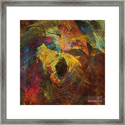 Awakening Framed Print by Klara Acel
