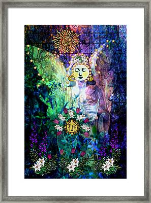Framed Print featuring the digital art Awakening by Mary Anne Ritchie