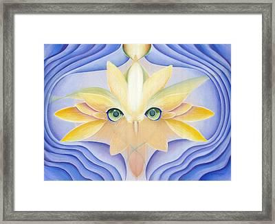 Awakening Framed Print by Robin Aisha Landsong