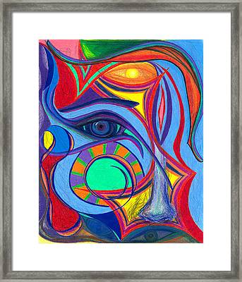 Awakening To Thy True Self Framed Print by Daina White