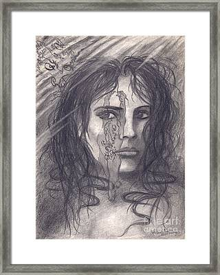 Awakening Upon Reflection On Austin Osman Spare Framed Print by Frederick Seaton