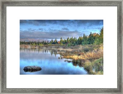 Awakening Your Senses Framed Print