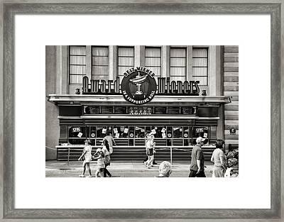 Award Wieners II Framed Print