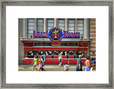 Award Wieners Framed Print