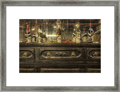 Award Winning Wine Framed Print by Jason Politte