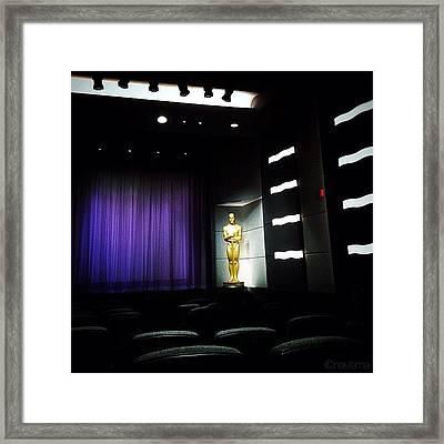 Awards Screening Framed Print