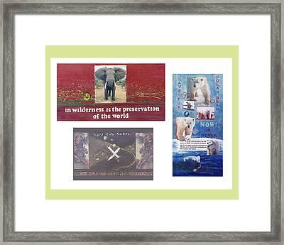 Awareness Group  Framed Print