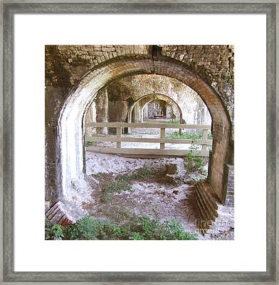 Away Framed Print by Andrea Anderegg