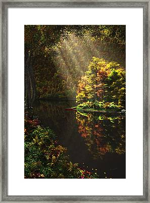 Away From It All Framed Print by John Robichaud