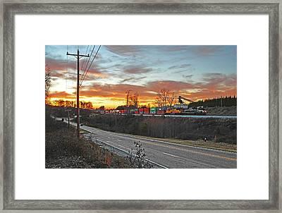 Away From The Sun Framed Print by Will Jordan