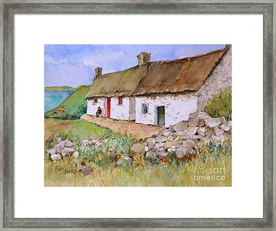 Away In Ireland Framed Print