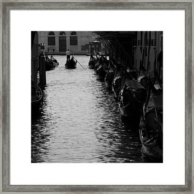 Away - Venice Framed Print