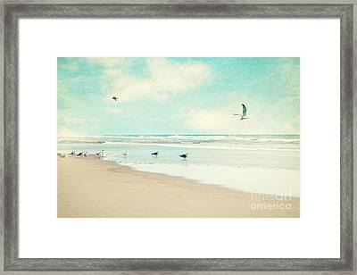 Framed Print featuring the photograph Away We Go by Sylvia Cook
