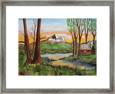 Awed Respect Framed Print by Jack G  Brauer