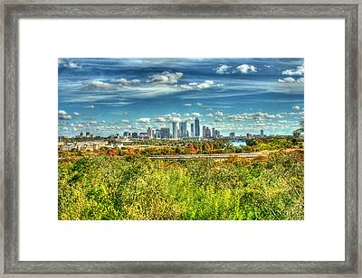Awesome Austin Framed Print by Andrew Nourse