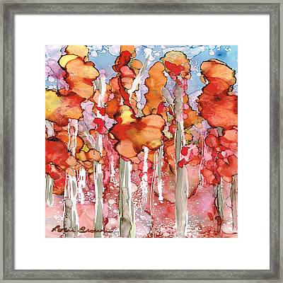 Awesome Autumn Framed Print by Rosie Brown
