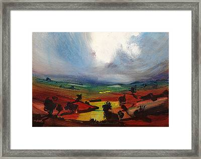 Awesome Framed Print by Neil McBride