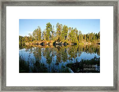 Awesub Morning Framed Print by Larry Ricker