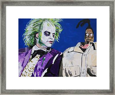 Awkward Framed Print by Jeremy Moore
