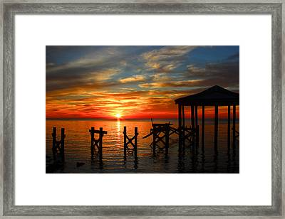 Awoke And Saw His Glory. Framed Print