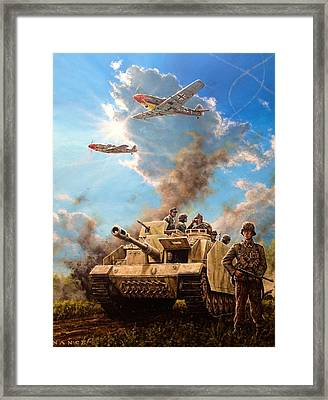 Axis Front 1944 Framed Print by Dan Nance