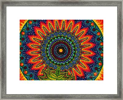Axis Of Truth Framed Print