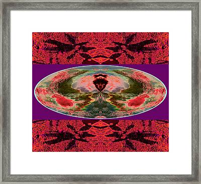 Axis To Find Narrowed Planet 2014 Framed Print by James Warren