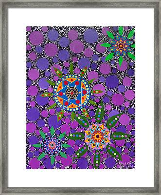 Ayahuasca Vision - The Healing Power Of Plants Framed Print