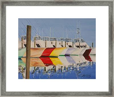 Aye Candy Framed Print by Stan Tenney