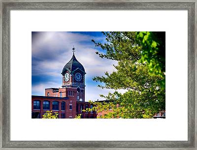 Ayer Mill In Lawrence Framed Print